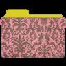Folder-damask-rose icon