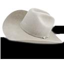 Hat-cowboy-white icon