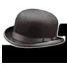 Hat-bowler icon