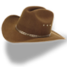 Hat-cowboy-brown icon