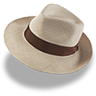 Hat-linen-trilby icon