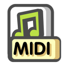 Midi-sequence icon