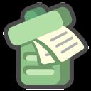 Recycle-bin-full icon