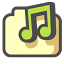 Shared-music icon