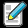 Write-document icon