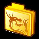 Folder-rising-dragon icon