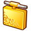 Folder-connected icon