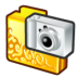 Folder-digital-camera icon