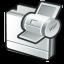 Folder-print icon