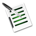 Write-document icon