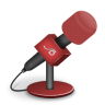 Microphone-foam-red icon