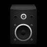 Speaker-black icon