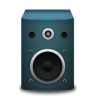 Speaker-blue icon