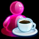 Lunchbreak-girl icon