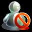 Blocked-offline icon