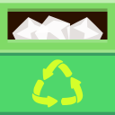Places-trashcan-full icon
