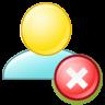 Delete-group icon