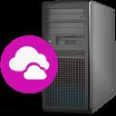 Server-cloud icon