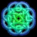 Bluegreen-circleknot icon
