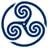 Blue-Wheeled-Triskelion-1 icon