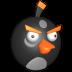 Bird-black icon
