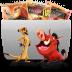 Folder-TV-Lion icon
