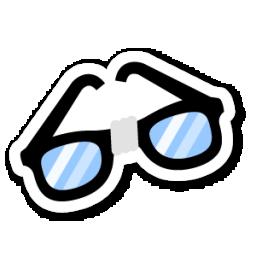 オタク眼鏡のアイコン おたくめがねのあいこん Ico Png Icns 無料のアイコンをダウンロード
