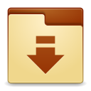 Places-folder-download icon