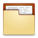 Places-folder-open icon