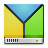 Apps-gparted icon