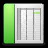 Mimes-x-office-spreadsheet icon