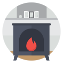 Fire-stove icon