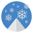 Snow-flakes icon
