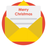 Mail-christmas icon