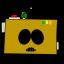 Cartman-AWESOM-O-head icon