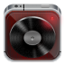 Music-player-dark-wood icon