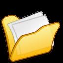 Folder-yellow-mydocuments icon