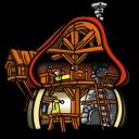 Smurf-House-Interior icon