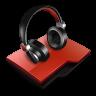 Audio-folder icon