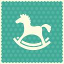 Horse-toy icon