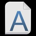 Font-x-generic icon