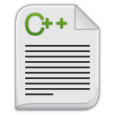 Text-x-c-plus-plus icon