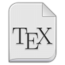 Text-x-bibtex icon