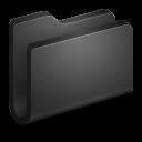 Generic-Black-Folder icon
