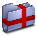 Package-Blue-Folder icon