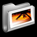 Photos-Metal-Folder icon