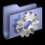 Developer-Blue-Folder icon