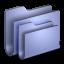 Folders-Blue-Folder icon