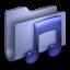 Music-Blue-Folder icon