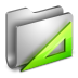 Applications-Metal-Folder icon